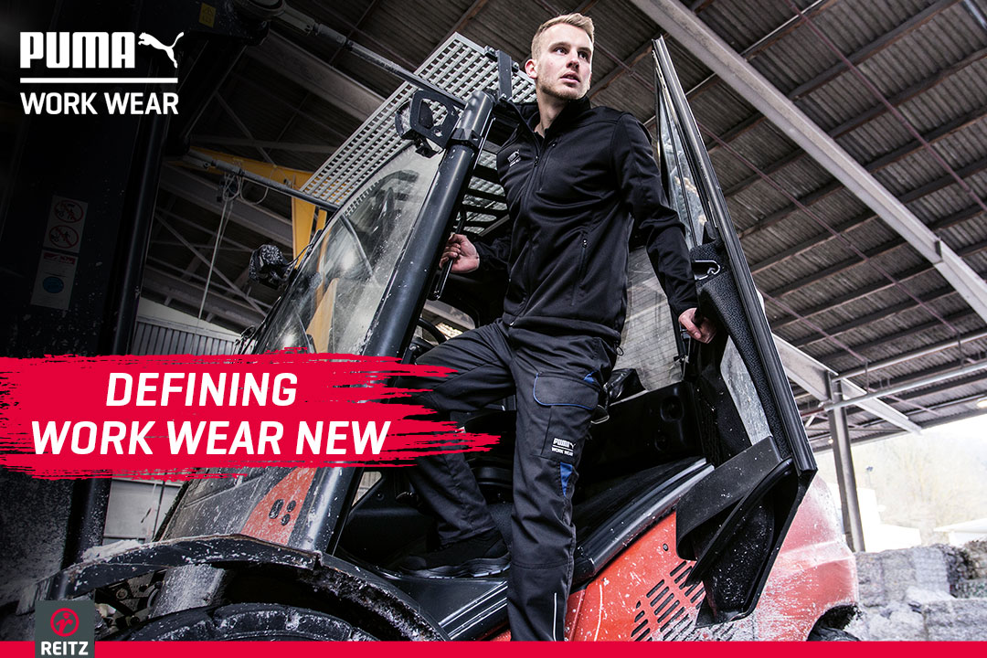 PUMA WORK WEAR - DEFINING WORK WEAR NEW