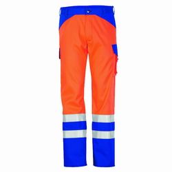 Bundhose Rofa 361 Multiseven orange-kornblau