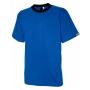 ESD-T-Shirt kobaltblau mit Brusttasche