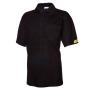 EPA/ESD-Polo Pique Shirt schwarz