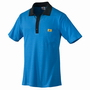 ESD-Polo Pique Shirt hellblau/schwarz