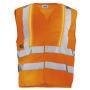 Warnweste orange uvex protection active flash