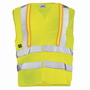 Warnweste gelb uvex protection active flash