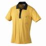 ESD-Polo Pique Shirt ocker/schwarz