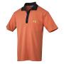 ESD-Polo Pique Shirt orange/schwarz